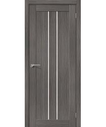 Дверь межкомнатная Эко Шпон Порта-24 Grey Veralinga (Товар № ZF193460)