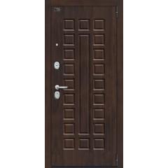 Входная металлическая дверь Браво Porta S 51.П61 (Урбан) в цвете Almon 28 / Bianco Veralinga, с зеркалом |Полотно 90 мм, Металл 1.2 мм, Вес 88 кг (Товар № ZF193372)