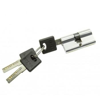 Цилиндр симметричный для межкомнатной двери Bravo AРK-60-30/30 Хром (Товар № ZF193389)