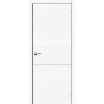 Дверь межкомнатная шпонированная (шпон натуральный) Вуд Арт-2.H Whitey (Товар № ZF190759)