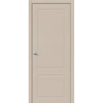 Дверь межкомнатная шпонированная (шпон натуральный) Вуд НеоКлассик-12.H Latte (Товар № ZF190765)