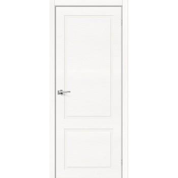 Дверь межкомнатная шпонированная (шпон натуральный) Вуд НеоКлассик-12.H Whitey (Товар № ZF190764)