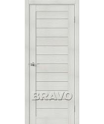 Дверь экошпон Серия Porta X Блок Порта-21 в цвете Bianco Veralinga (Товар № ZF58944)