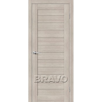 Дверь экошпон Серия Porta X Блок Порта-21 в цвете Cappuccino Veralinga (Товар № ZF58940)
