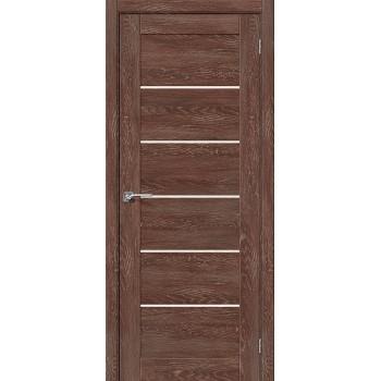 Дверь экошпон Легно-22 в цвете Chalet Grande остекленная