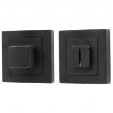 Фиксатор на квадратной розетке для межкомнатной двери Bravo A/Z-2WC МатЧерный (Товар № ZF190755)