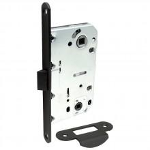 Защелка с пластиковым язычком для межкомнатной двери Bravo P-3-WC МатЧерный (Товар № ZF190747)