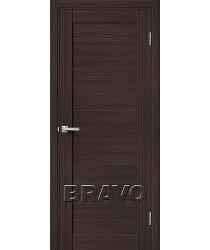 Дверь экошпон Серия Porta X Блок Порта-21 в цвете Wenge Veralinga (Товар № ZF58948)