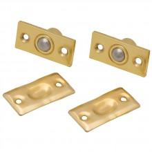 Защелка шариковая для межкомнатной двери L1 PB Золото (Товар № ZF190753)