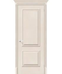 Дверь экошпон Классико-12 в цвете Cappuccino Softwood