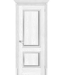 Дверь экошпон Классико-12 в цвете Silver Ash/Silver Rift