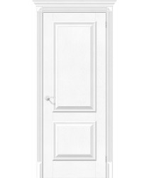 Дверь экошпон Классико-12 в цвете White Softwood