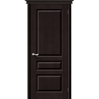Межкомнатная дверь из Массива М5 ПГ темный лак Белорусские двери Цвет: Темный лак Глухая (Товар №  ZF20073)
