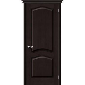 Межкомнатная дверь из Массива М7 ПГ темный лак Белорусские двери Цвет: Темный лак Глухая (Товар №  ZF1165)