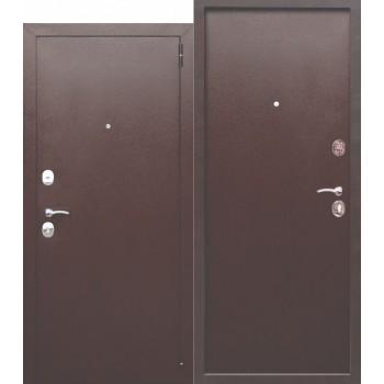 Входная металлическая дверь Феррони Гарда в цвете Медный Антик / Медный Антик Полотно 6 см, Металл 1.2 мм, Вес 65 кг  (Товар № ZF190892)