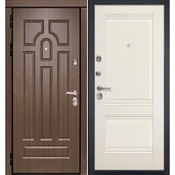 Входная металлическая дверь HAUSDOORS ProfilDoors HD-1/1U Магнолия |Полотно 100 мм, Металл 1.5 мм  (Товар № ZA190814)