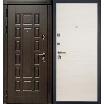 Входная металлическая дверь HAUSDOORS ProfilDoors HD3/1Z Эш Вайт Кроскут |Полотно 100 мм, Металл 1.5 мм  (Товар № ZA190820)