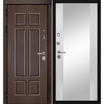 Входная металлическая дверь HAUSDOORS ProfilDoors HD4 / Зеркало Белое |Полотно 100 мм, Металл 1.5 мм  (Товар № ZA190823)