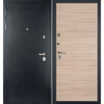 Входная металлическая дверь HAUSDOORS ProfilDoors HD6/1Z Капучино Кроскут |Полотно 100 мм, Металл 1.5 мм  (Товар № ZA190825)