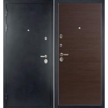 Входная металлическая дверь HAUSDOORS ProfilDoors HD6/1Z Венге Кроскут |Полотно 100 мм, Металл 1.5 мм  (Товар № ZA190826)