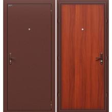 Дверь стальная Эконом в цвете М-11 (ИталОрех). (Товар №  ZF38358)