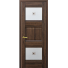 Межкомнатная дверь PROFIL DOORS. Модель  6 Х , Цвет: орех сиена , Отделка: экошпон (Товар № ZF137856)