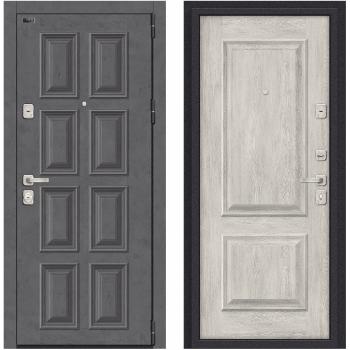 Входная металлическая дверь Браво Porta M К18.K12 в цвете Rocky Road / Chalet Provence |Полотно 98 мм, Металл 1.2 мм, Вес 94 кг