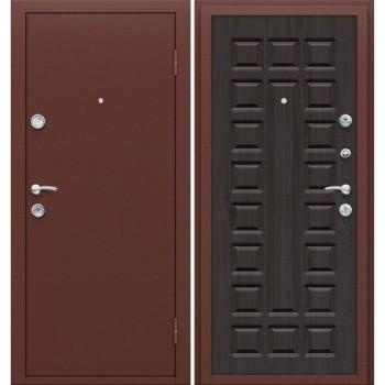 Входная металлическая дверь Браво Йошкар в цвете Антик Медь / П-09 (Венге) |Полотно 68 мм, Металл 1 мм, Вес 54 кг  (Товар №  ZF16311)