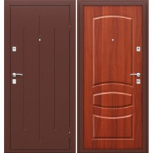 Дверь стальная Стройгост 7-2 в цвете М-11 (ИталОрех). (Товар №  ZF38453)