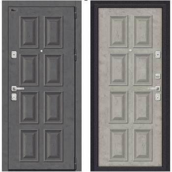 Входная металлическая дверь Браво Porta M К18.K18 в цвете Rocky Road / Silk Road |Полотно 98 мм, Металл 1.2 мм, Вес 100 кг