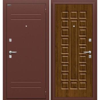 Входная металлическая дверь Браво Нова в цвете Антик Медь / П-26 (Французский Дуб) |Полотно 70 мм, Металл 1.5 мм, Вес 56 кг (Товар № ZF47323)