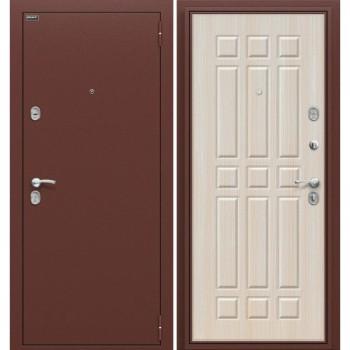 Входная металлическая дверь Браво Старт в цвете Антик Медь / П-30 (БелДуб) |Полотно 66 мм, Металл 1.2 мм, Вес 63 кг (Товар № ZF56)
