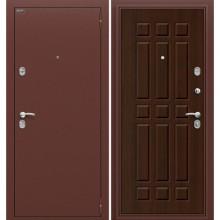 Дверь стальная Старт в цвете П-33 (Венге). (Товар № ZF58)