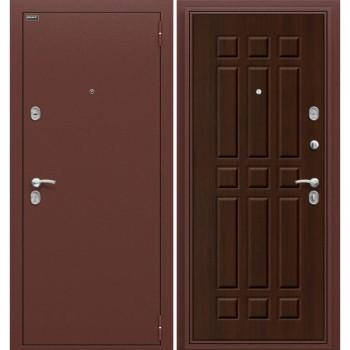 Входная металлическая дверь Браво Старт в цвете Антик Медь / П-33 (Венге) |Полотно 66 мм, Металл 1.2 мм, Вес 63 кг (Товар № ZF58)