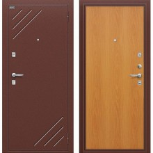 Дверь стальная Стандарт в цвете М-12 (МиланОрех). (Товар № ZA55666)
