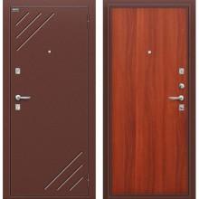 Дверь стальная Стандарт в цвете М-11 (ИталОрех). (Товар № ZA55664)