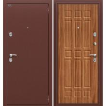 Дверь стальная Старт в цвете Антик Медь/П-8 (Янтарный Дуб). (Товар № ZF58997) (Товар № ZF105488)
