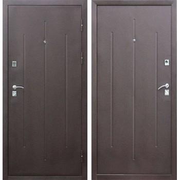 Входная металлическая дверь Цитадель Стройгост 7-2 в цвете Медный Антик / Медный Антик |Полотно 7 см, Металл 1 мм, Вес 35 кг (Товар № ZF111523)