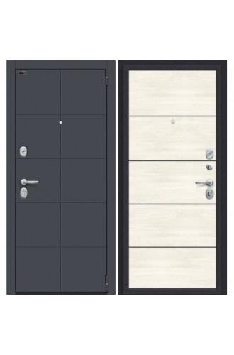 Porta S 10.П50 (AB-6), в цвете Graphite Pro/Nordic Oak (Товар № ZF224868)