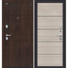 Входная металлическая дверь Браво Porta S-3 4.50 в цвете Almon 28/Cappuccino Veralinga. (Товар № ZF114019)