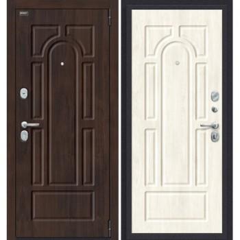 Входная металлическая дверь Porta S 55.55 в цвете Almon 28/Nordic Oak. (Товар № ZF165631)