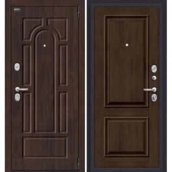 Входная металлическая дверь Porta S 55.К12 в цвете Almon 28/Dark Oak. (Товар № ZF165632)