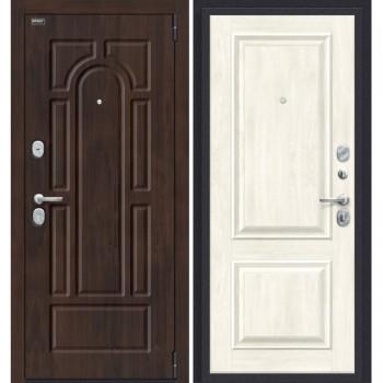Входная металлическая дверь Porta S 55.К12 в цвете Almon 28/Nordic Oak. (Товар № ZF165633)