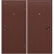 Входная стальная дверь Door Out 101 Антик Медь BRAVO Цвет: Антик Медь (Товар №  ZF10677)