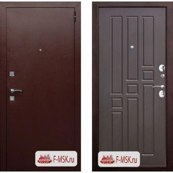 Входная металлическая дверь Феррони Гарда 8мм в цвете Медный антик / Венге |Полотно 6 см, Металл 1.2 мм, Вес 61 кг (Товар № ZF104368)