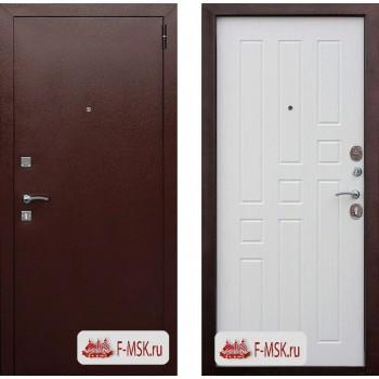 Входная металлическая дверь Феррони Гарда 8мм в цвете Медный антик / Белый Ясень |Полотно 6 см, Металл 1.2 мм, Вес 61 кг (Товар № ZF104369)