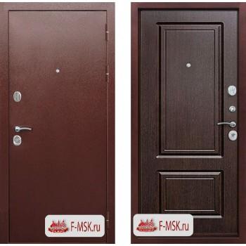 Входная металлическая дверь 10 см Толстяк РФ медный антик Венге (Товар № ZF104394)