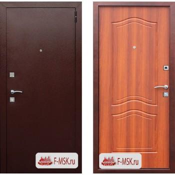 Входная металлическая дверь Феррони Dominanta в цвете Медный антик / Рустикальный дуб |Полотно 6 см, Металл 1 мм, Вес 47 кг  (Товар № ZF165714)