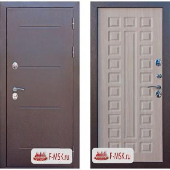 Входная металлическая дверь Феррони Isoterma в цвете Медный антик / Лиственница мокко  Полотно 11 см, Металл 1.4 мм, Вес 82 кг (Товар № ZF104418)