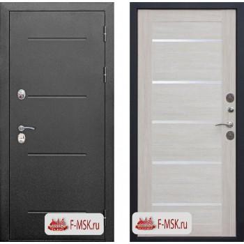 Входная металлическая дверь Феррони Isoterma в цвете Антик серебро / Лиственница беж  Полотно 11 см, Металл 1.4 мм, Вес 92 кг (Товар № ZF107791)